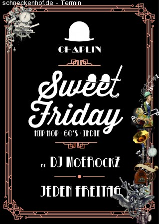Chaplin´s Sweet Friday Werbeplakat